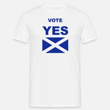 Yes Vote Vote Yes - Men's T-Shirt