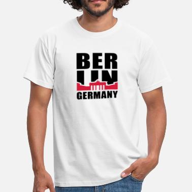 Berlin Germany Brandenburger Tor BERLIN GERMANY Brandenburger Tor 2C - Männer T-Shirt