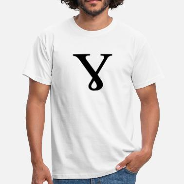 Gamma Greek Symbol - Baby Gamma - Men's T-Shirt
