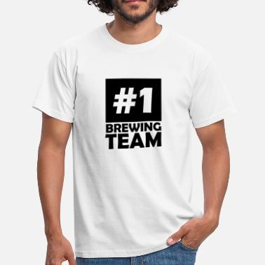 number one brewing team - Men's T-Shirt