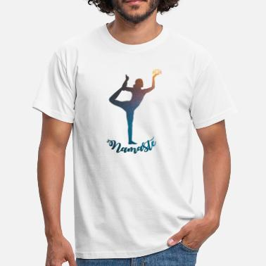 Shiatsu Yoga Namaste T-Shirt Design - Men's T-Shirt