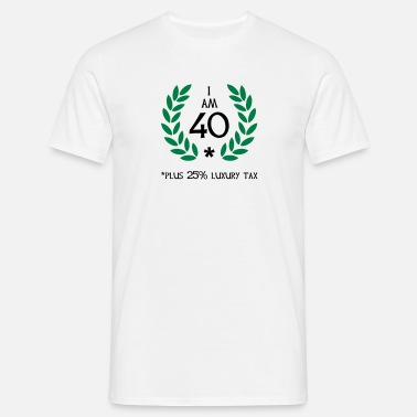 Antal 50 - 40 plus tax - Herre-T-shirt