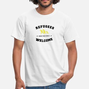 Refugees Welcome refugees welcome - Camiseta hombre