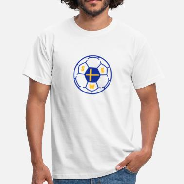 Ballon foot SWEDEN v3 - T-shirt Homme