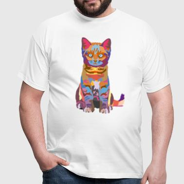 wpap kitten - Men's T-Shirt