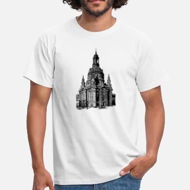 Ostalgie Frauenkirche around 1910 - Men's T-Shirt