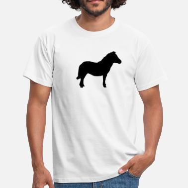 Ascot Miniature Pony - Men's T-Shirt