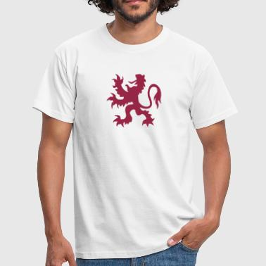 löwe, lion royal - Männer T-Shirt
