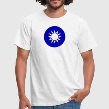 Chinese Revolution National Emblem Of Taiwan - Men's T-Shirt