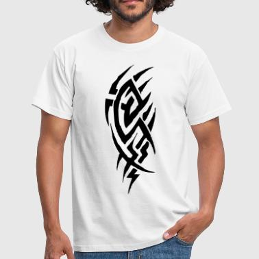Tribal Tattoo Drache tribal tattoo - Männer T-Shirt