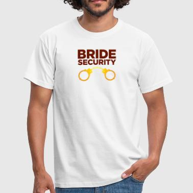 Security Team Of The Bride - Men's T-Shirt