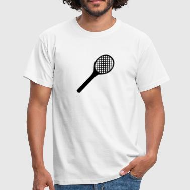 Tennis Racket - Men's T-Shirt