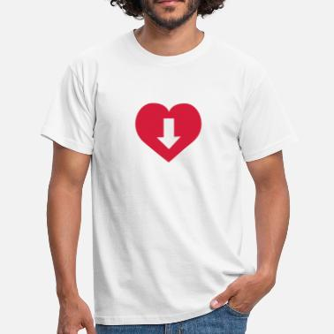 Dick Penis Love | Penis | Dick | Pussy | Muschi - Men's T-Shirt