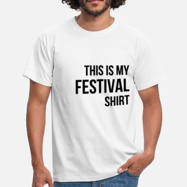 Color Splash Festival Festival Shirt - Männer T-Shirt