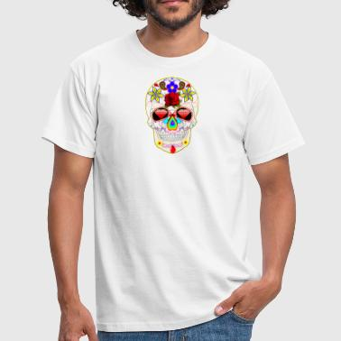 Day of the Dead - T-shirt herr