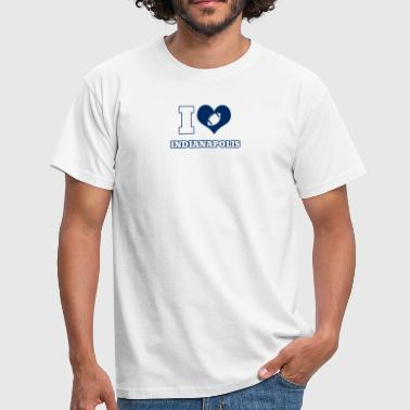 Indianapolis J'adore Indianapolis - T-shirt Homme