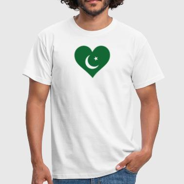 South East Asia A Heart For Pakistan - Men's T-Shirt