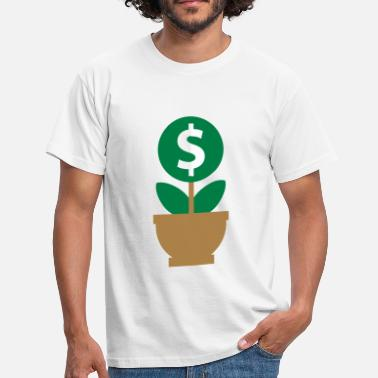 Dollar money tree - Men's T-Shirt