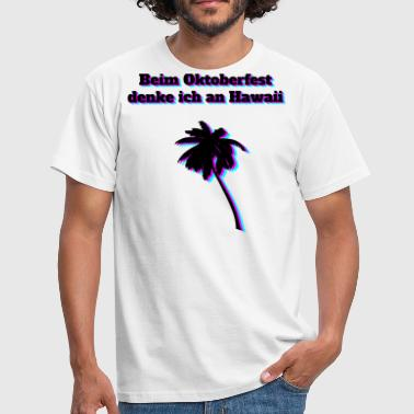 Triathlet Hawaii Oktoberfest Hawaii - Männer T-Shirt