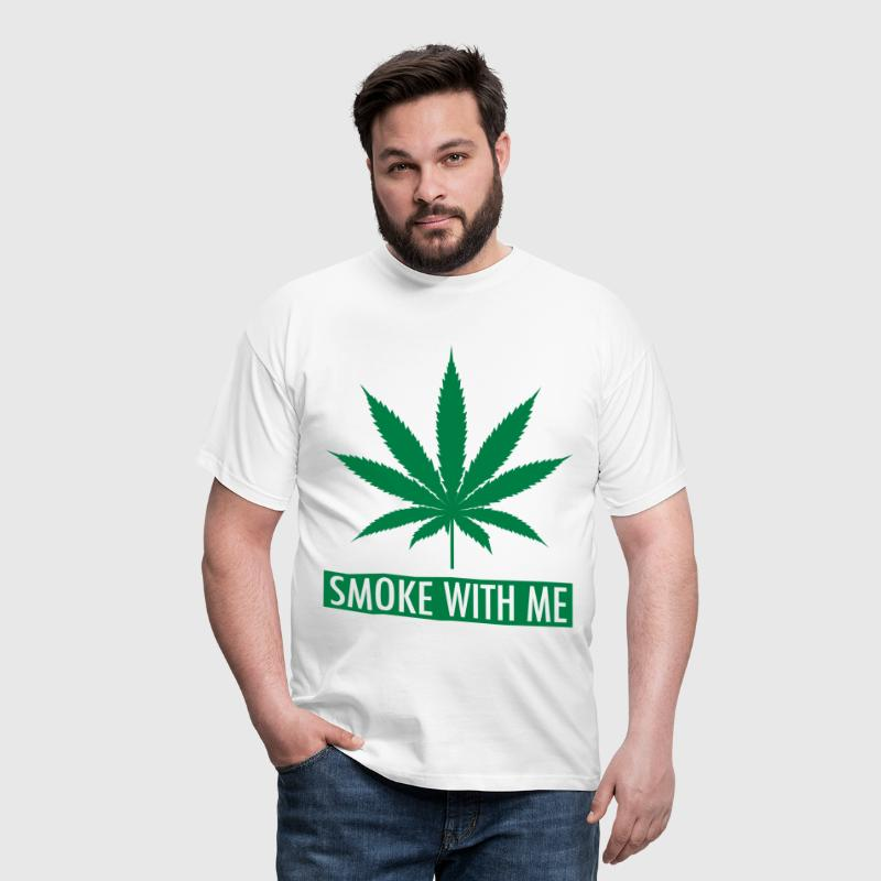 Smoke With Me - Men's T-Shirt