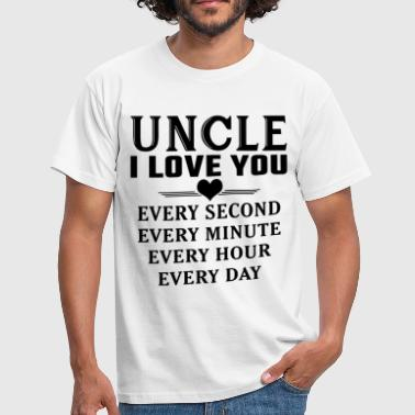 I Love You Uncle - Men's T-Shirt