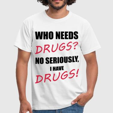 Drugs - T-shirt Homme