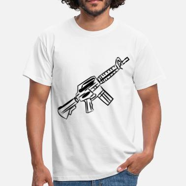 Gangster Rap Weapon! Gangster! Gift! rap - Men's T-Shirt