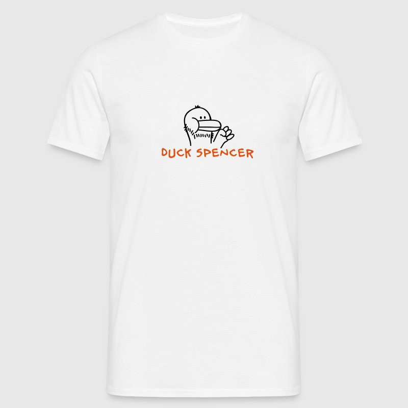 Duck Spencer - Männer T-Shirt