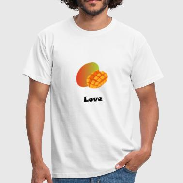 Mango love black gift gift idea - Men's T-Shirt