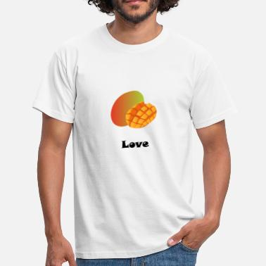 Aromatic Mango love black gift gift idea - Men's T-Shirt