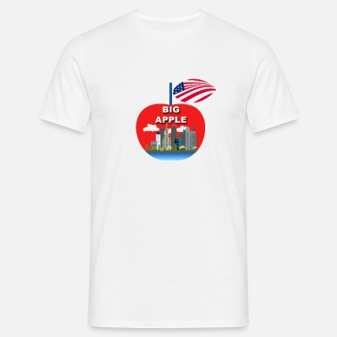 Big Apple Big apple - Herre-T-shirt