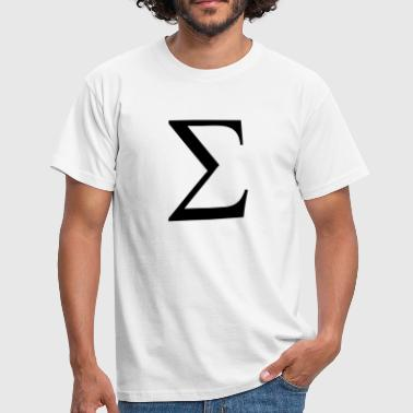 Greek Symbol - Sigma - Men's T-Shirt