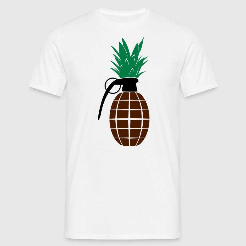Pineapple Grenade  - Men's T-Shirt