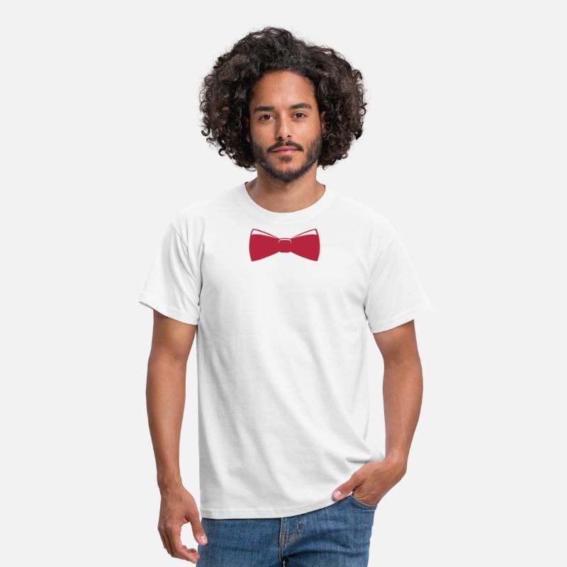 96b4c8485a68ff Krawat Koszulki - Krawat - Koszulka męska biały