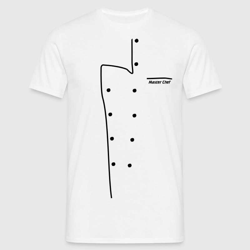 chef jacket - Men's T-Shirt