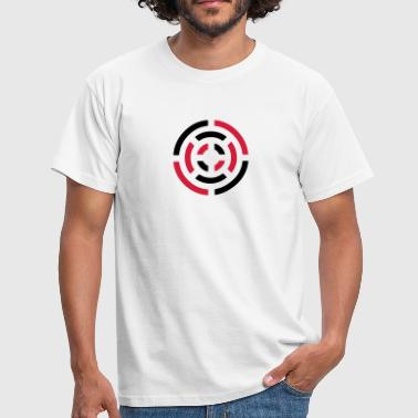 Signal circle sign - Men's T-Shirt