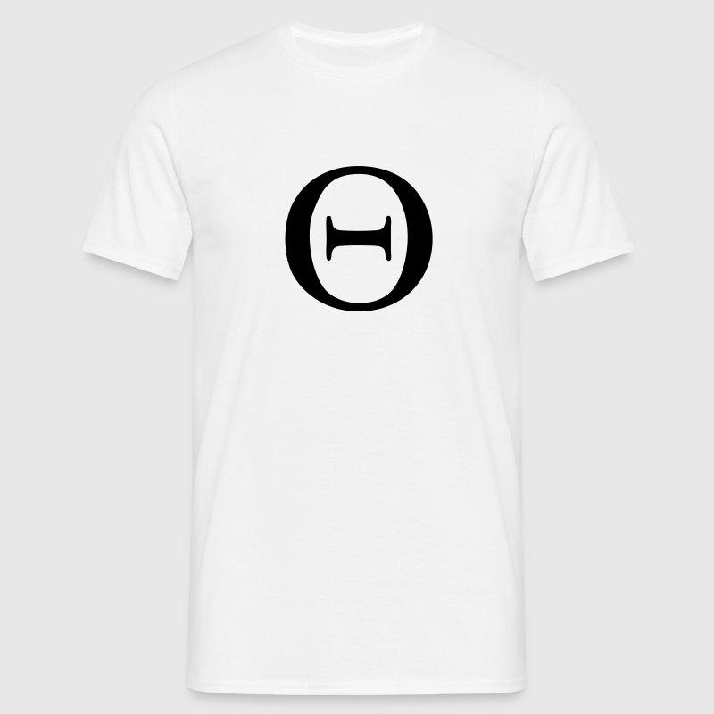 Greek Symbol Theta T Shirt Spreadshirt
