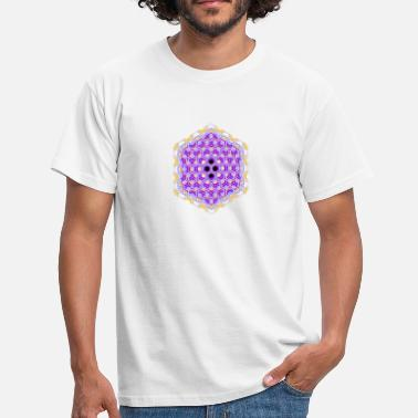Sechseck honeycomb - Men's T-Shirt
