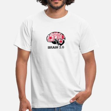 Wisdom brain 2.0 - Men's T-Shirt