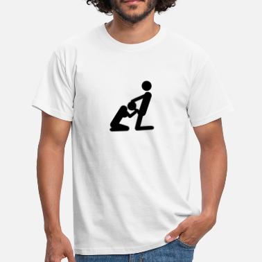 Pictogram Blow Job blowjob - Men's T-Shirt