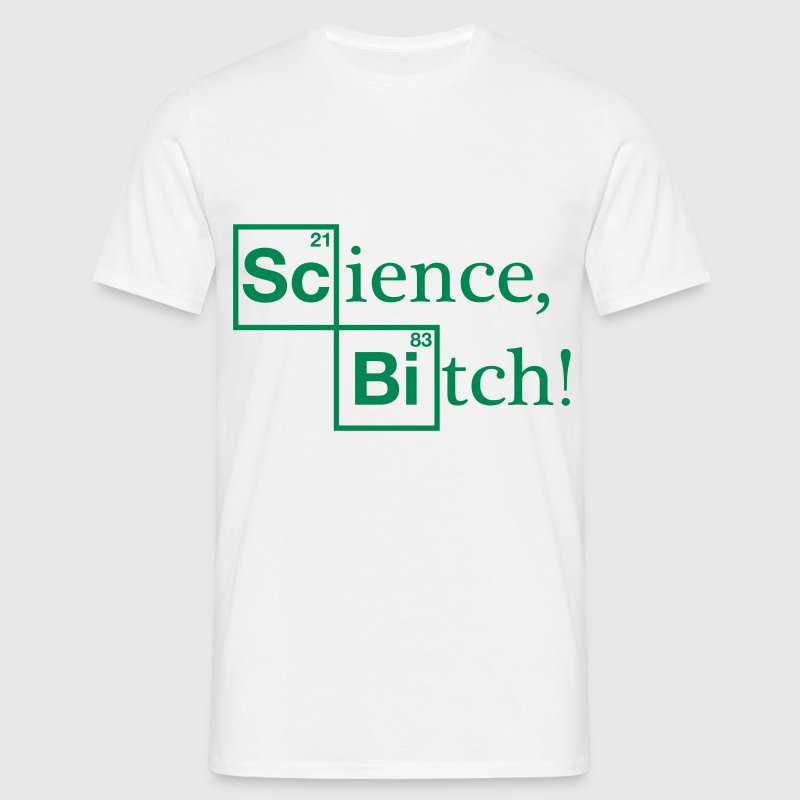 Science, Bitch! - Jesse Pinkman - Breaking Bad - Men's T-Shirt