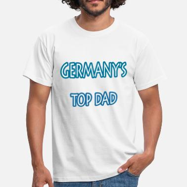 Grandfather Tops germany s top dad - Men's T-Shirt