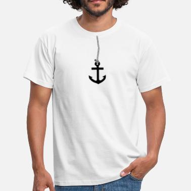 Digital Art Artistic anchor t-shirt design! Gift idea - Men's T-Shirt