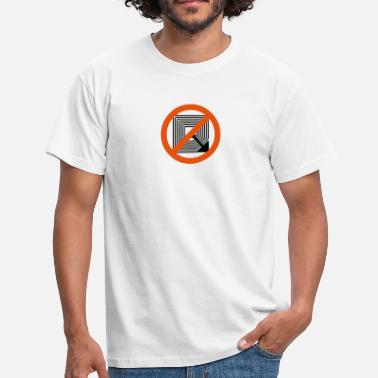 Controle stop rfid 2b - Mannen T-shirt
