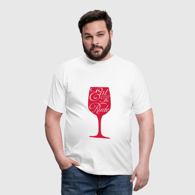 Eat the rude (Hannibal) - Camiseta hombre