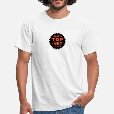Stud quality top - Mannen T-shirt