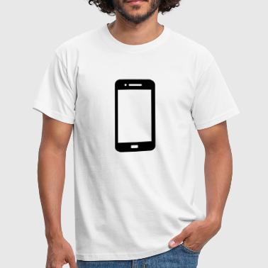 Mobile Phone Vektor - Men's T-Shirt