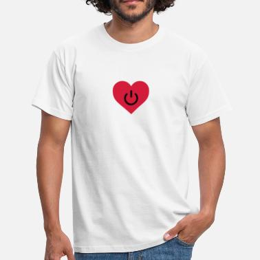 Romance power of love v2 - Camiseta hombre