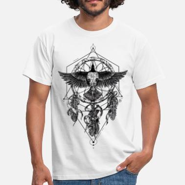 Skull Crow AD Skull Crow Dreamcatcher Mystic - T-shirt Homme