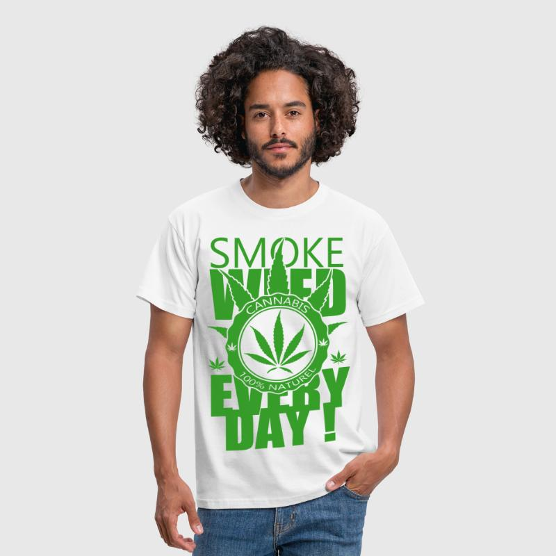 Smoke weed everyday - T-shirt Homme